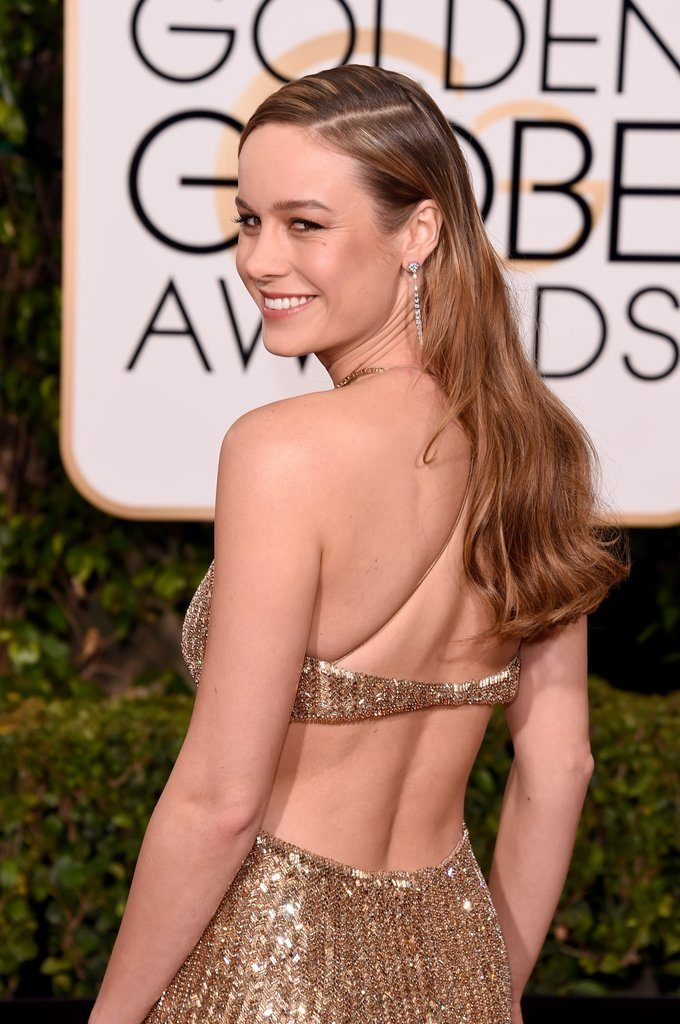 Brie Larson Sexy Backside Images