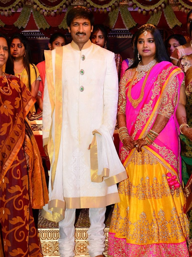 Gopichand Lovely Marriage Pics