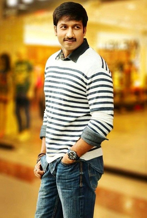 Gopichand New Hair Style Images