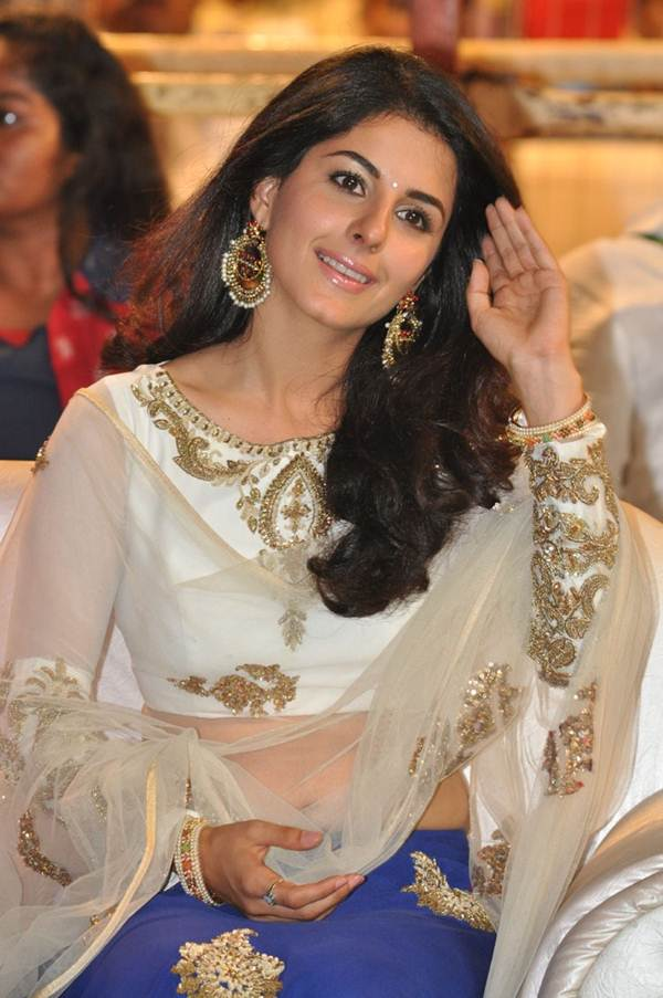 Isha Talwar Spicy Pics In Saree