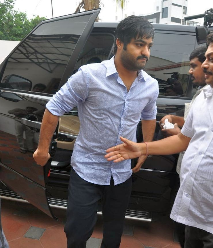 Jr Ntr Latest Hair Style Images