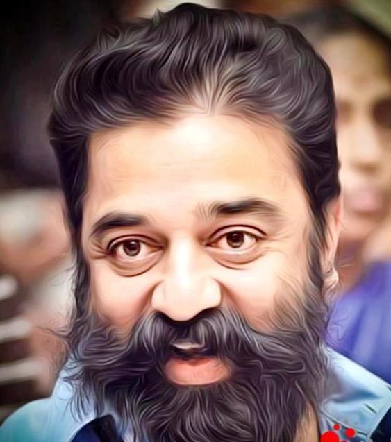 Kamal Haasan Beard Look Pics