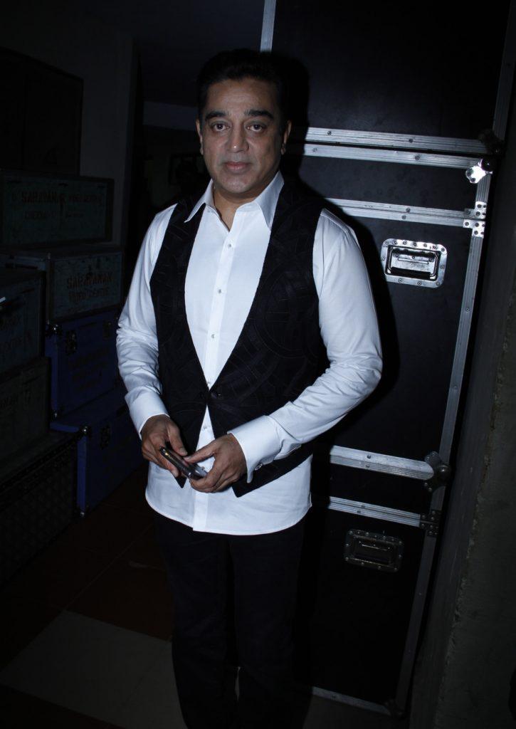 Kamal Haasan HD Pics In White Shart