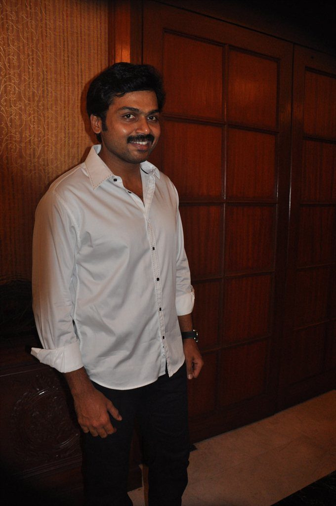 Karthi New Wallpapers At Event