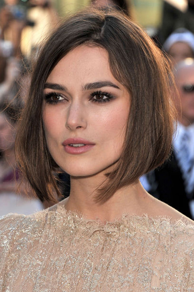 Keira Knightley Latest Hair Style Images