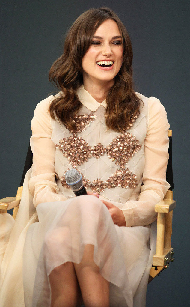 Keira Knightley Sweet Smile Images