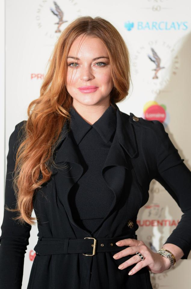 Lindsay Lohan Images At Event