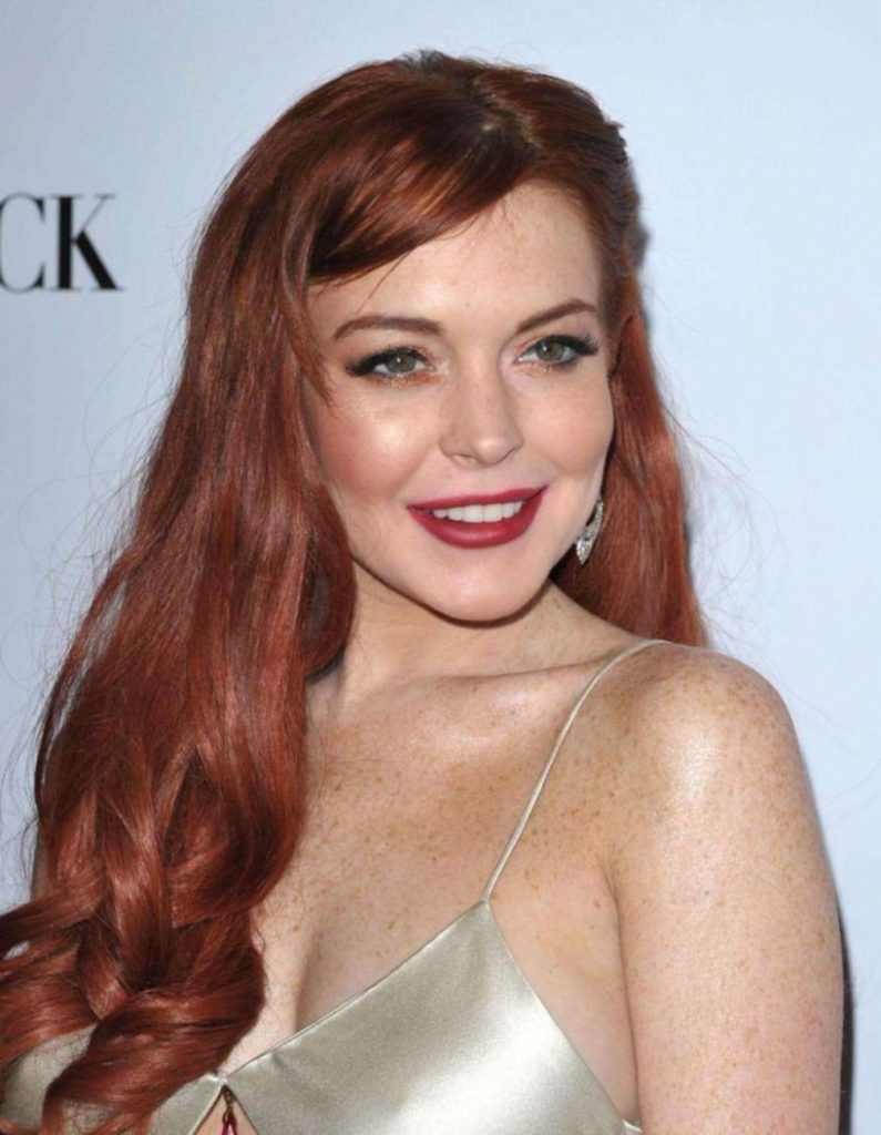 Lindsay Lohan Latest Hair Style Photos