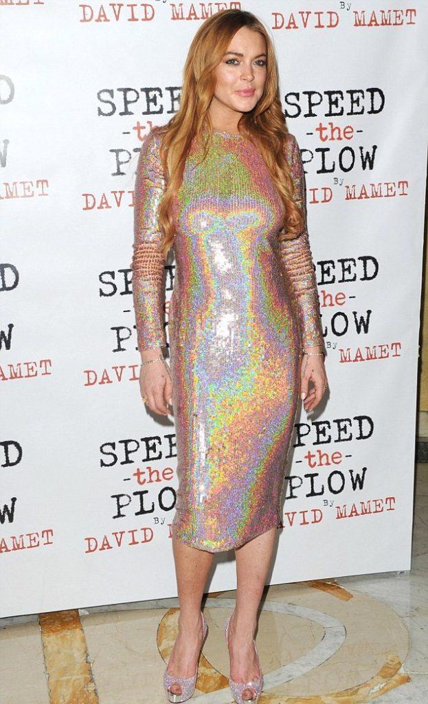 Lindsay Lohan Photos At Award Show