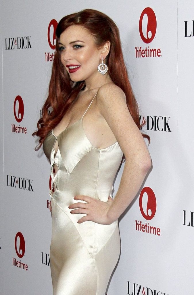 Lindsay Lohan Upcoming Movie Look Pictures