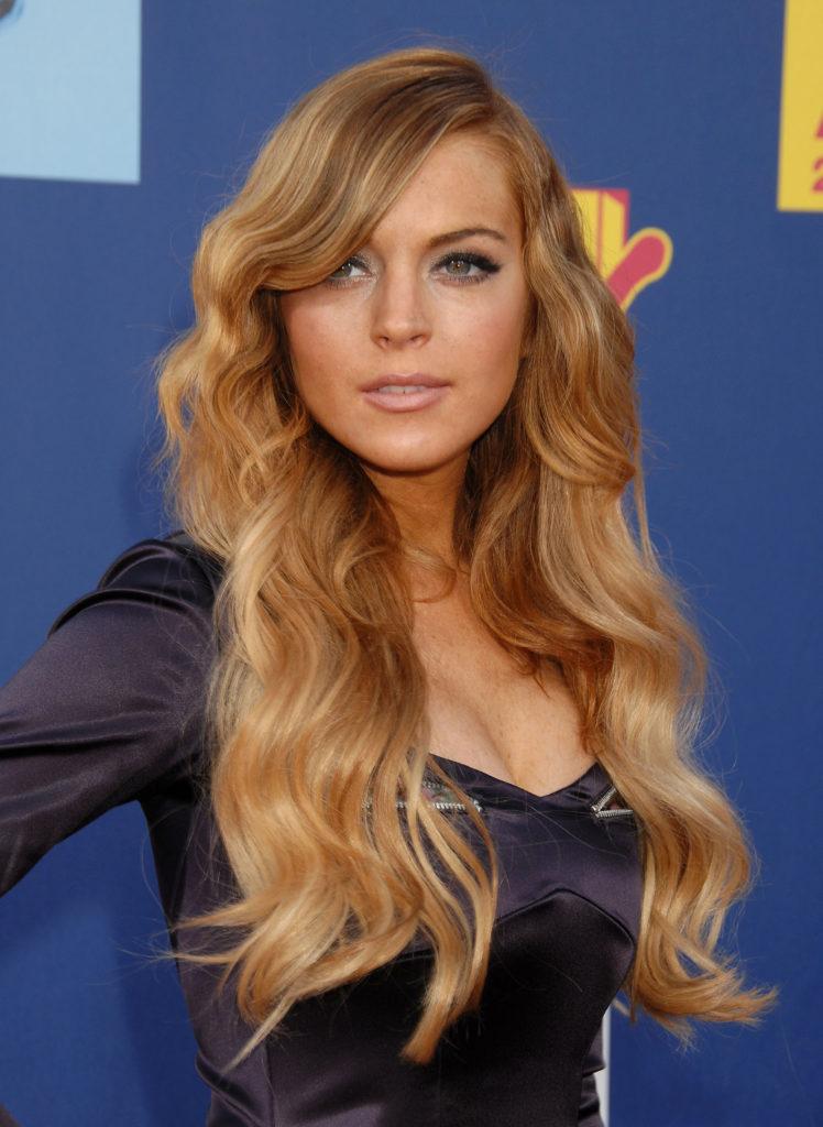 Lindsay Lohan Hot Biki...