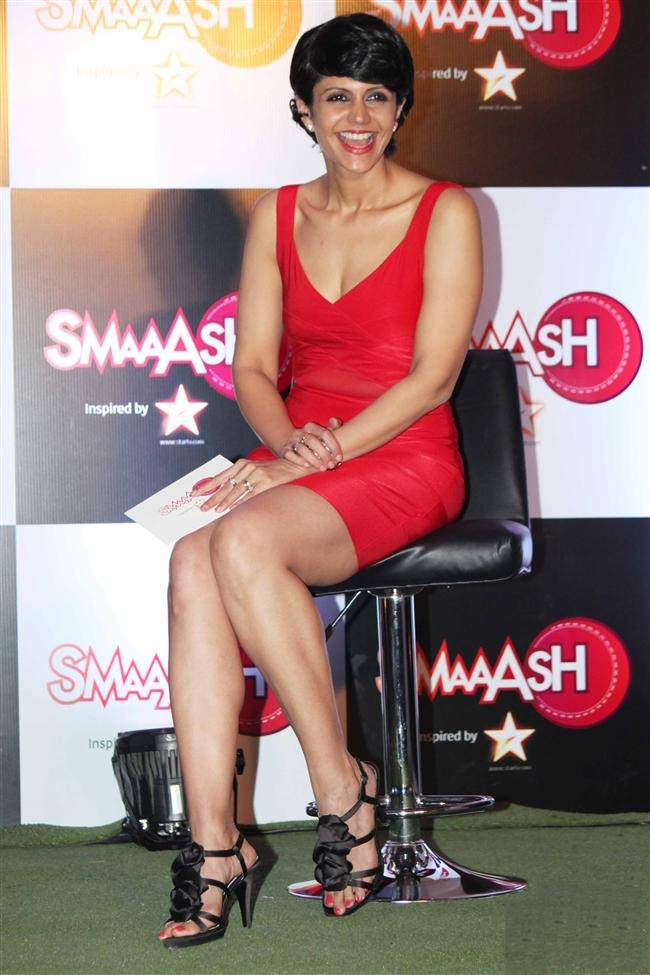 Mandira Bedi Sexy Legs Photos