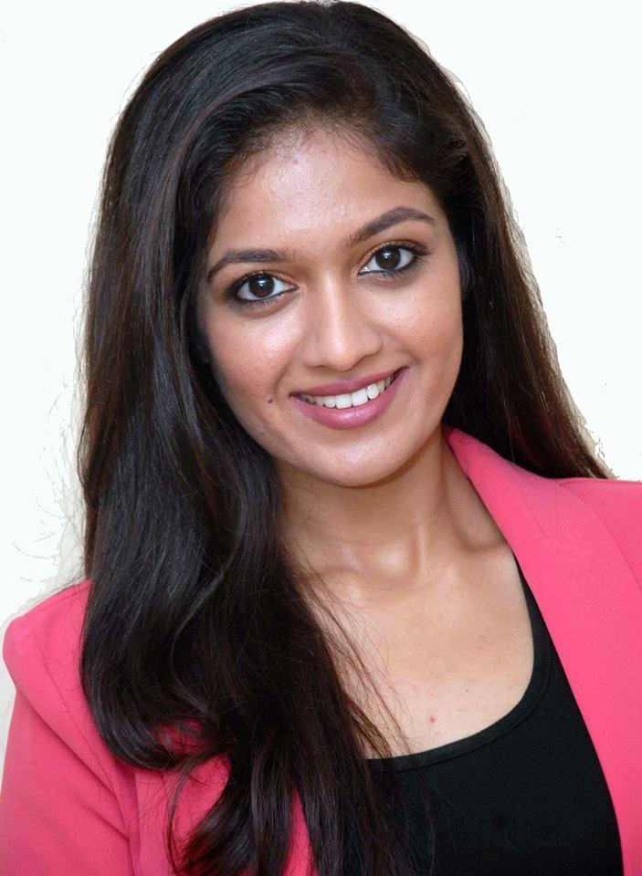 Meghana Raj Cute Smiling Pics