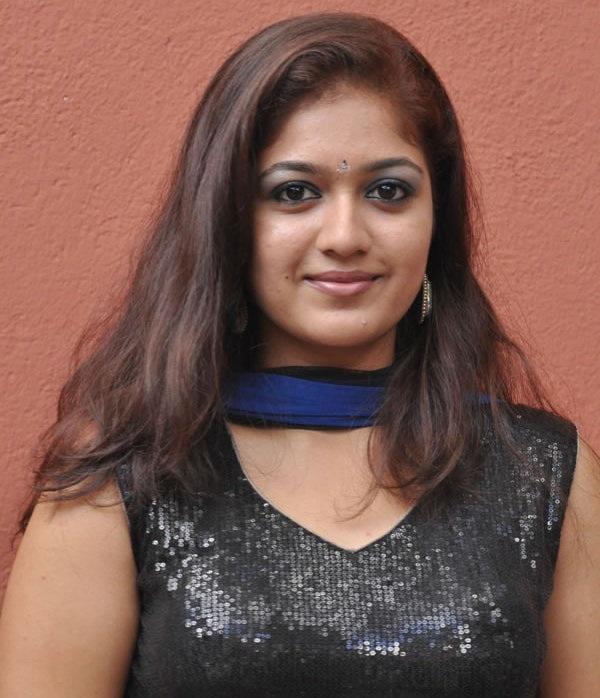Meghana Raj New  Hair Style Pics