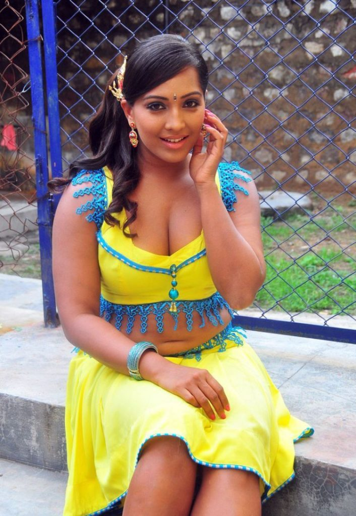 Meghna Naidu Hot Images In Shorts