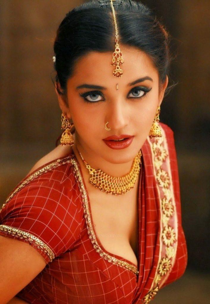 Monalisa Hot Images In Baa Saree