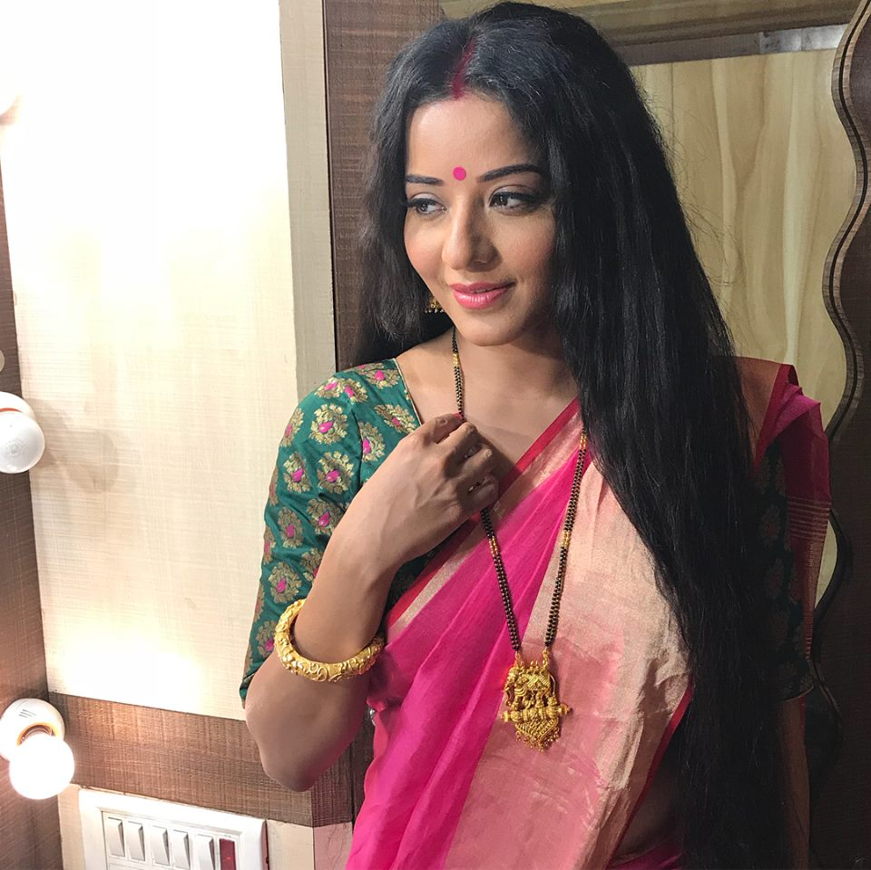Monalisa Hot Pictures In Saree
