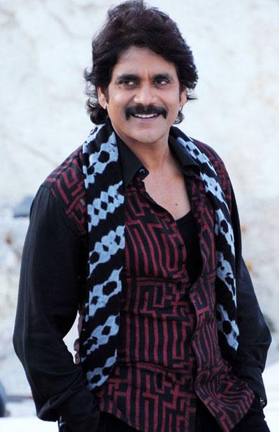 Nagarjuna Movie Look Images Pics