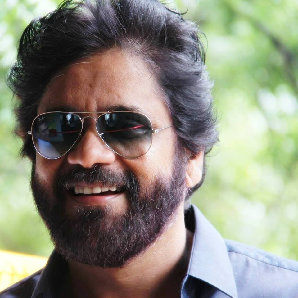 Nagarjuna New Pics In Beard Look