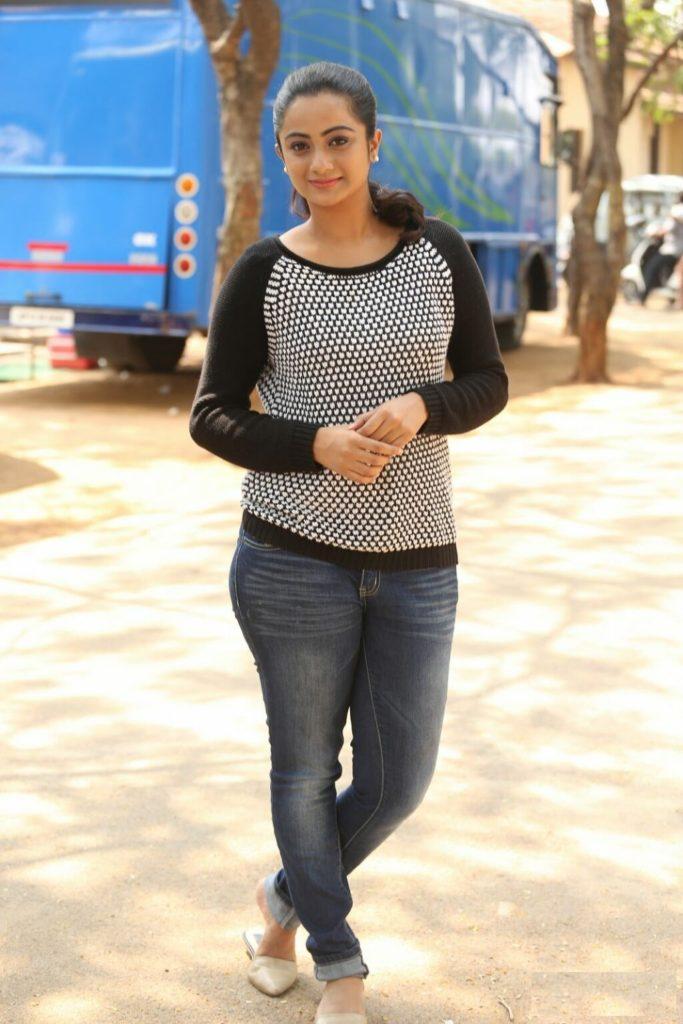 Namitha Pramod Hot In Jeans Top