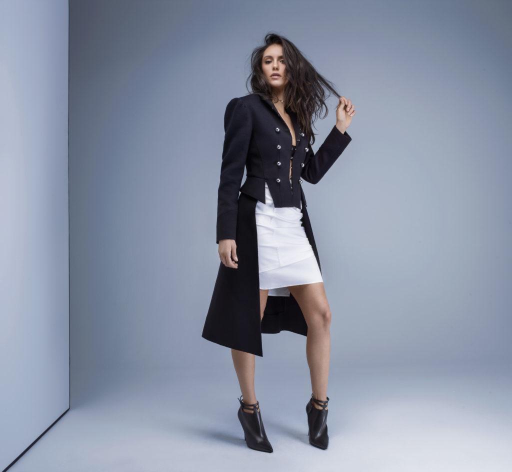 Nina Dobrev New Look Photos