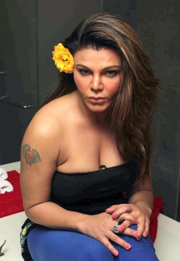 Rakhi Sawant Hot Pics In New Hair Style