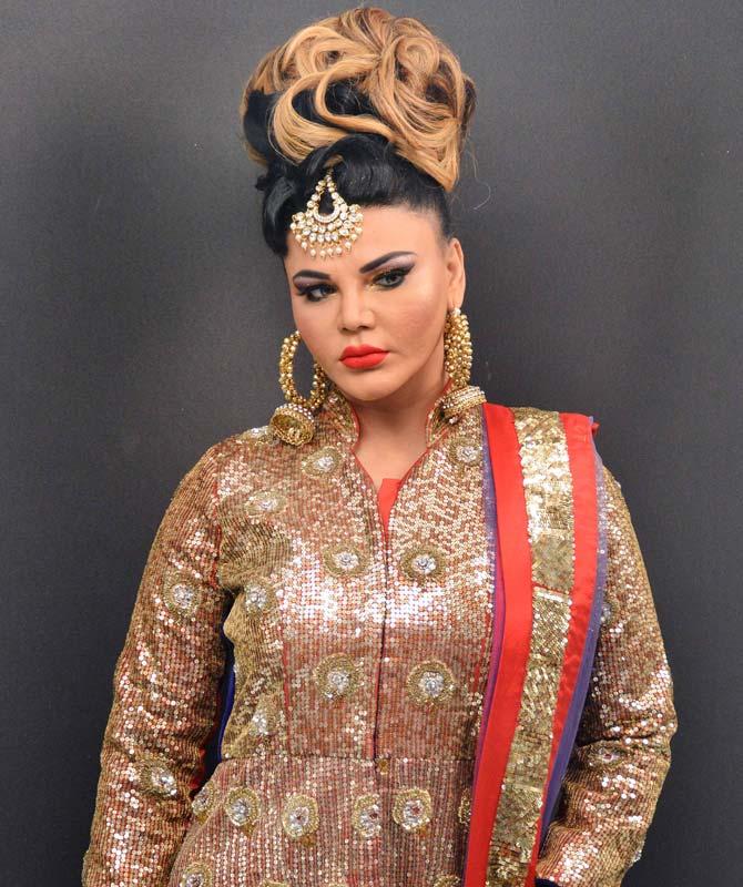 Rakhi Sawant New Pics At Event