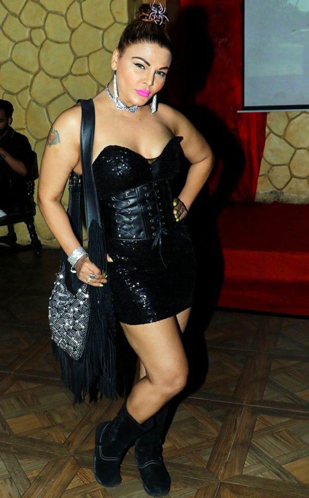Rakhi Sawant Sexy Legs Photoshoot