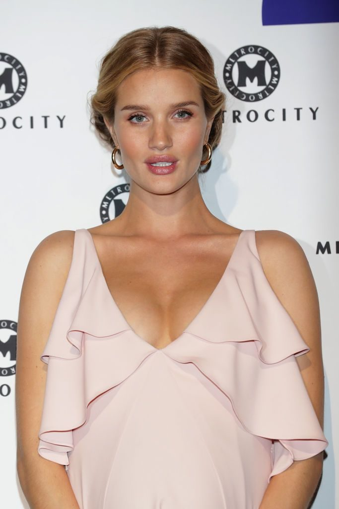 Rosie Huntington-Whiteley Images At Event