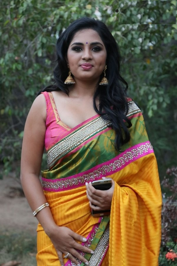 Srushti Dange Hot Picture In Saree