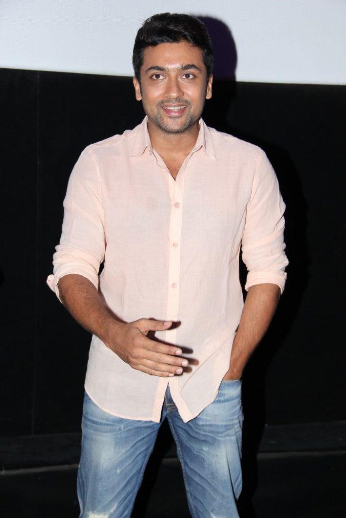 Suriya HD Image In Jeans Shart