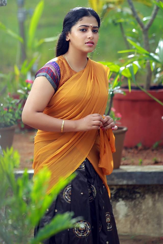 Anu Sithara In Saree Pictures