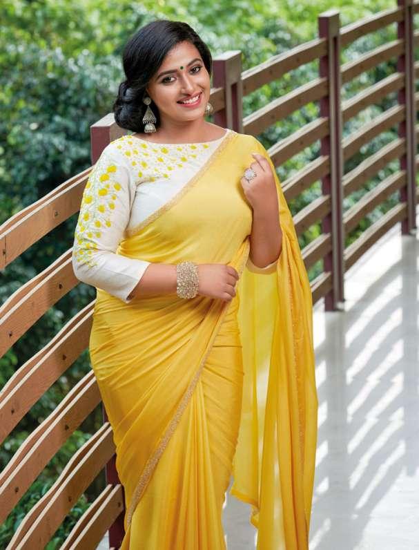 Anu Sithara In Saree