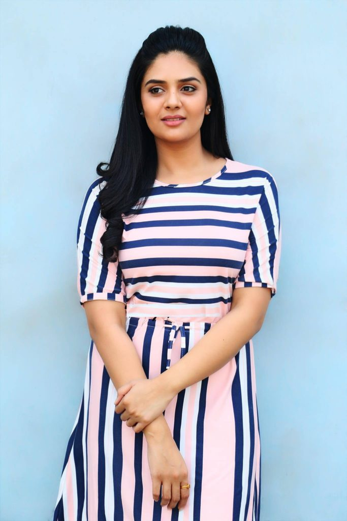 Indian Actress Sreemukhi New Images Gallery