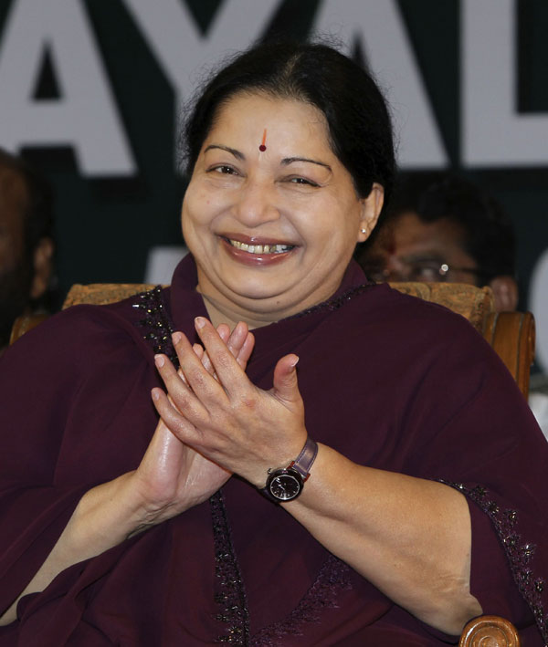 Jayalalitha Smile Images