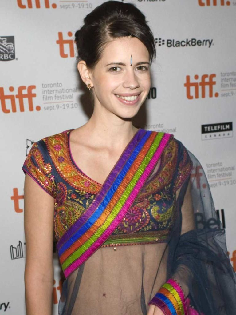 Kalki Koechlin Navle In Saree Pics