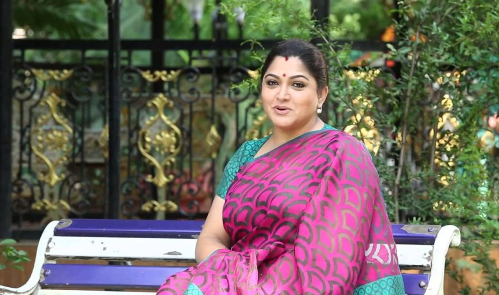 Kushboo HD Pictures In Garden