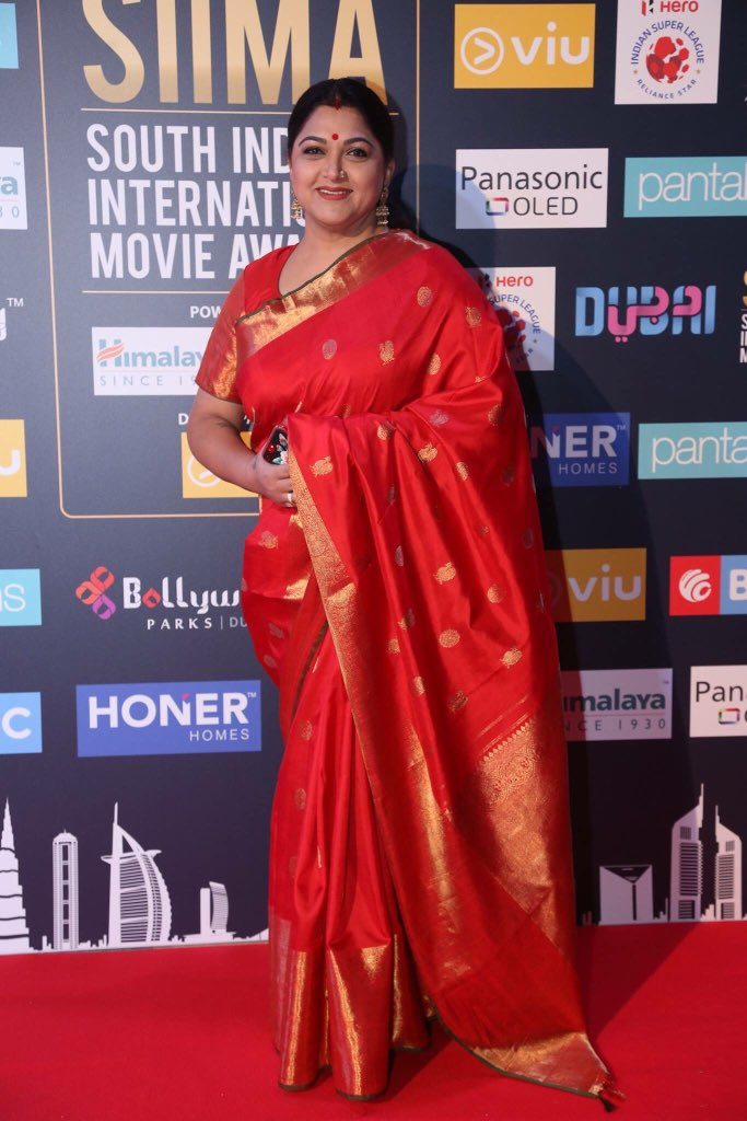 Kushboo New Images At Award Show