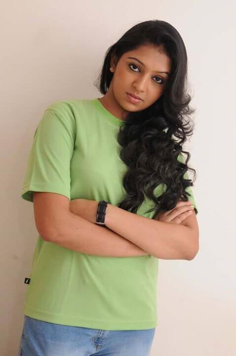 Lakshmi Menon Hot In Jeans Top Pictures