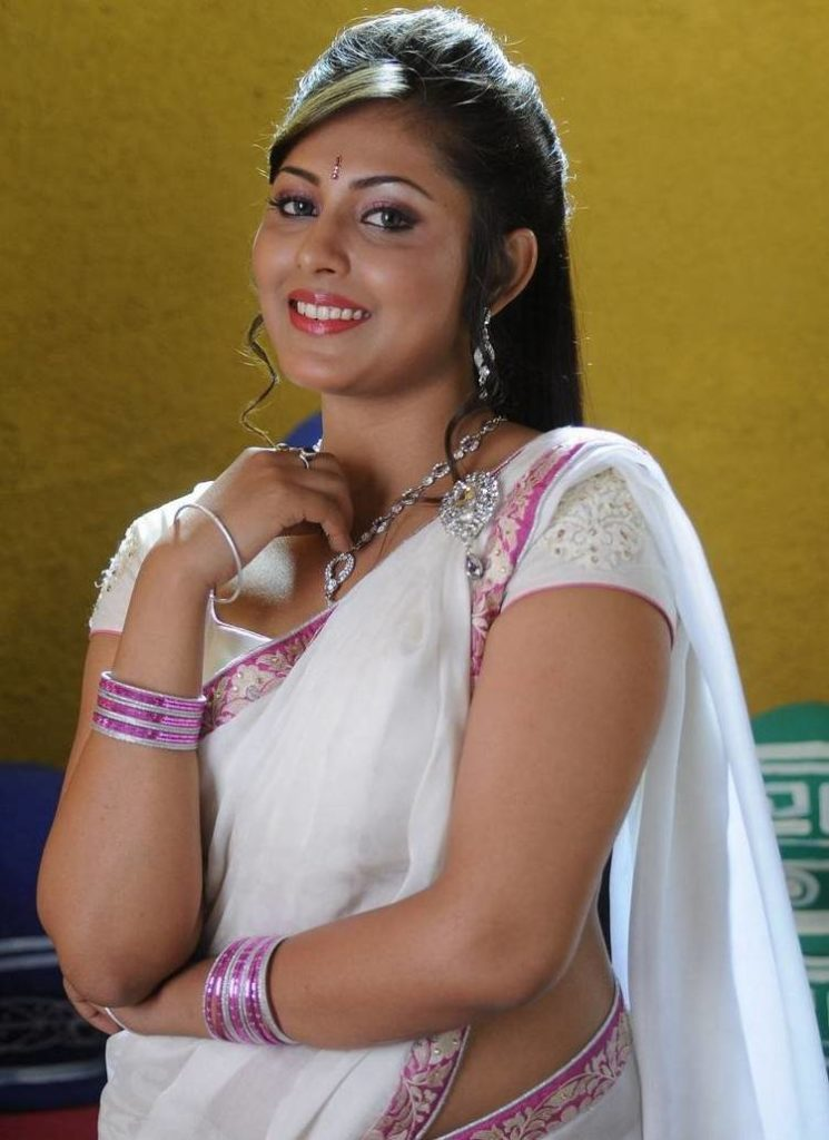 Madhu Shalini In Saree Images