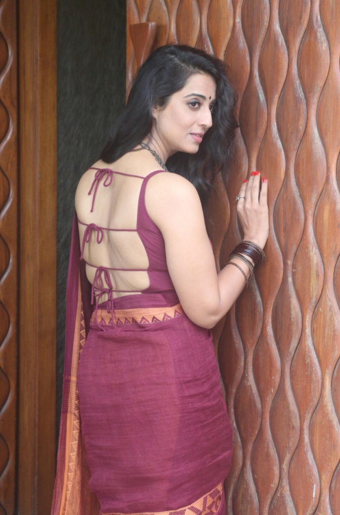 Mahi Gill Hot In Backless Clothes Pics