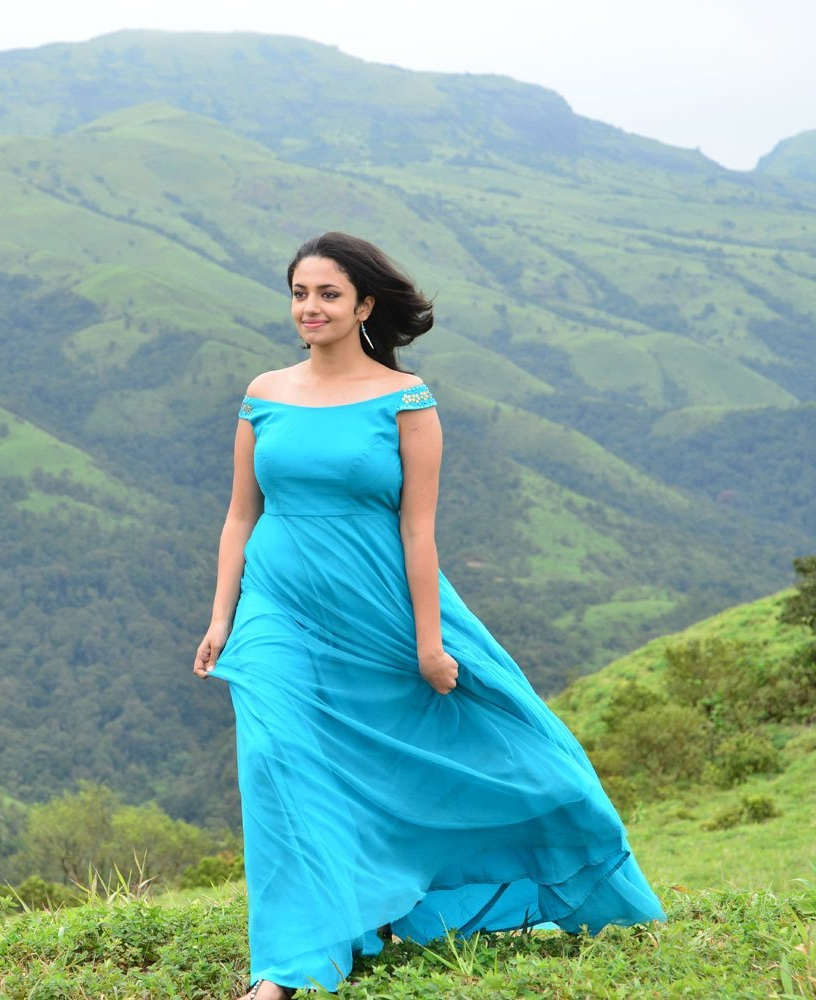 Malavika Nair In Garden Bold Photos