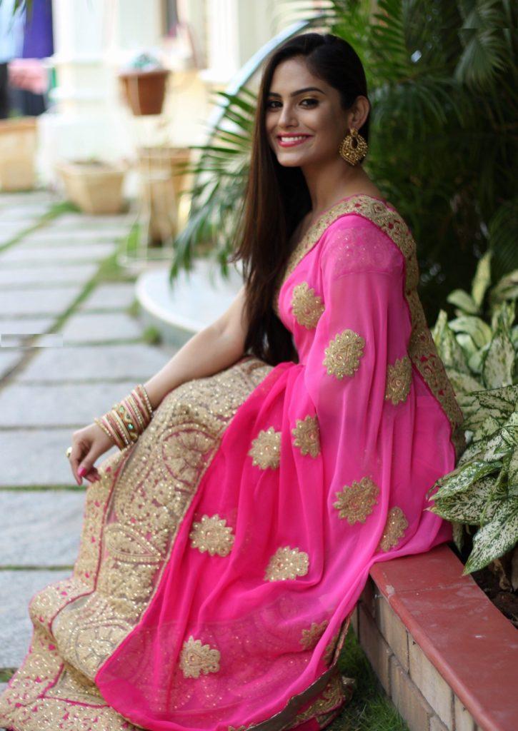 Naina Ganguly In Saree Images