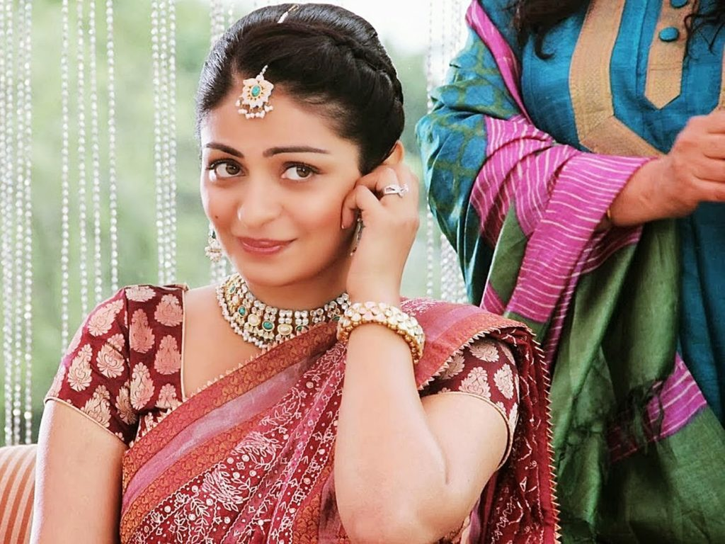 Neeru Bajwa In Saree Photos