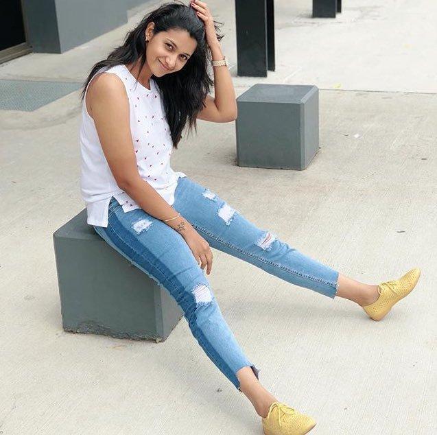 Priya Bhavani Shankar In Jeans Top Images Gallery