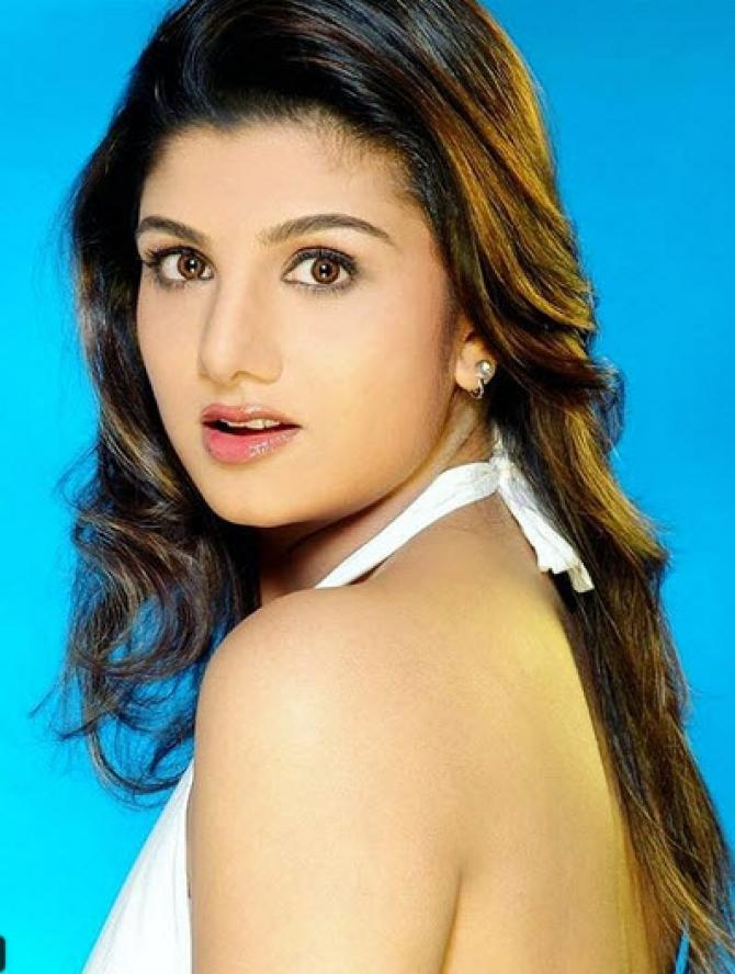 Rambha In Backless Clothes