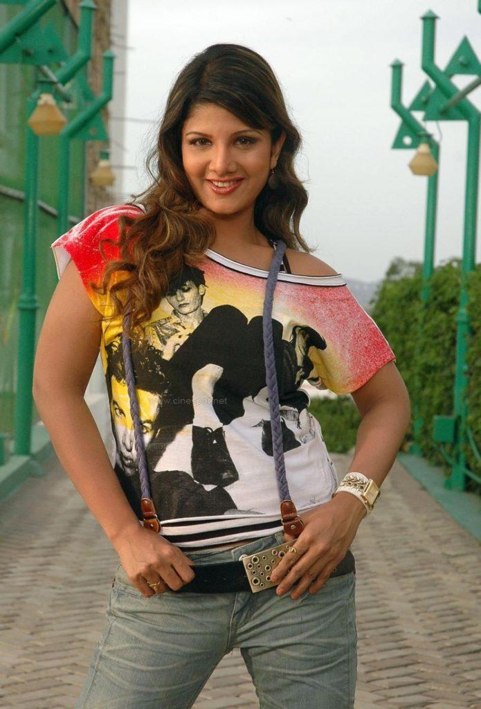 Rambha In Jeans Top