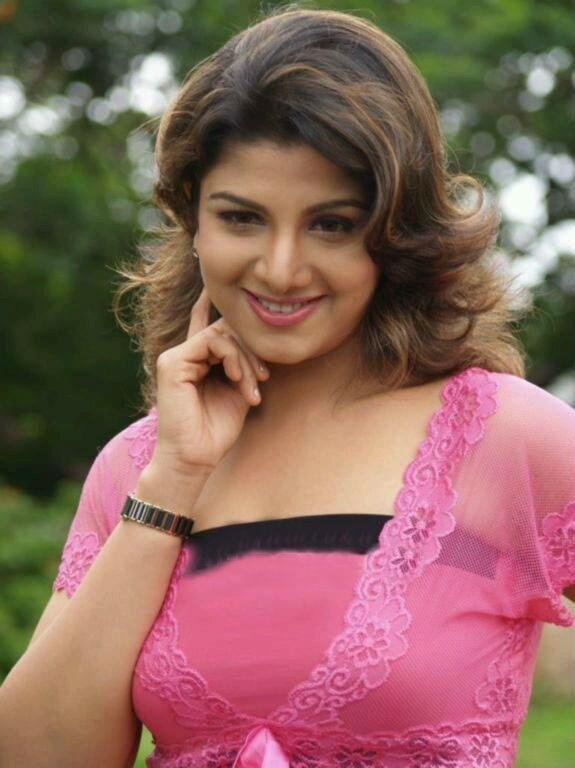 Rambha New Hair Style Photos
