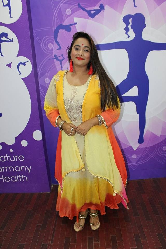 Rani Chatterjee In Salwar Kameez Pics At Event