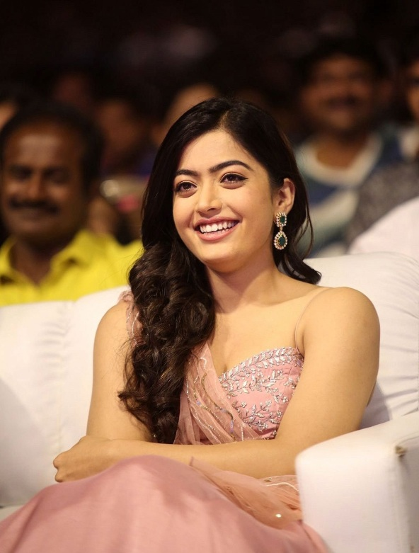 Rashmika Mandanna At Award Show Hot Images